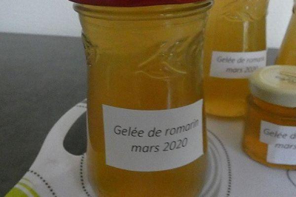 Gelée de romarin 2020