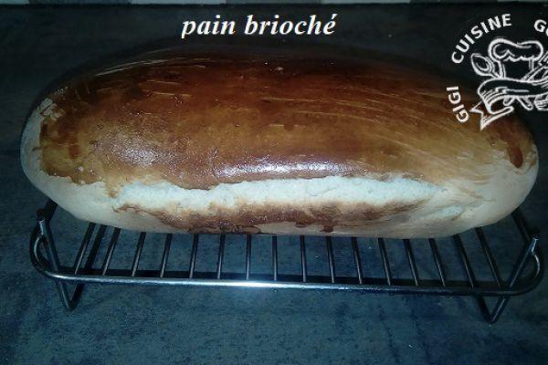 Recette PAIN BRIOCHE au thermomix
