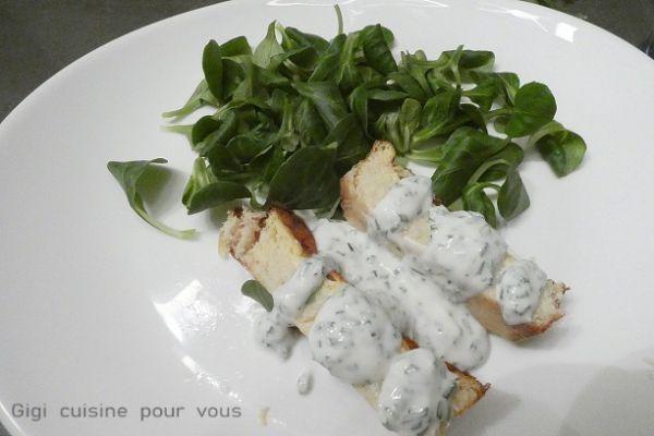 Terrine de crabe sauce ciboulette (compact cook pro)