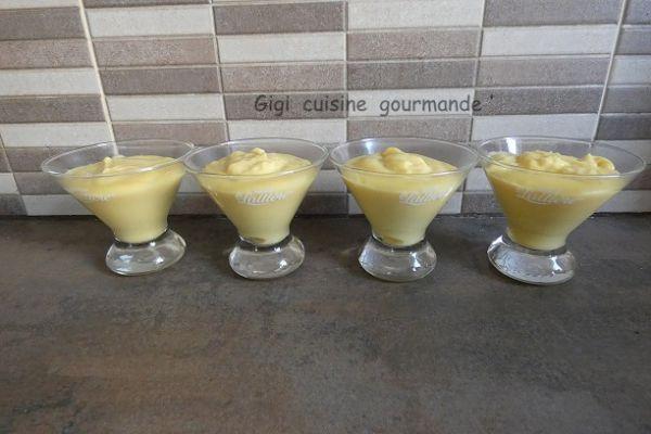 crème vanille au compact cook pro