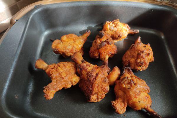Recette Grignot' de poulet au cake factory