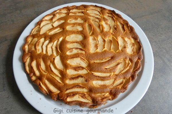 Recette Gâteau suisse aux pommes
