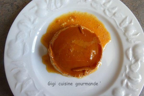 Recette Crème caramel au Saint Moret