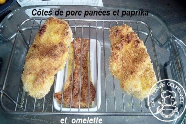 Recette COTE DE PORC A L'OMNICUISEUR