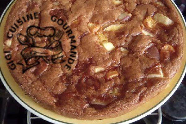 Recette gâteau aux fruits d'été (abricots et brugnons)