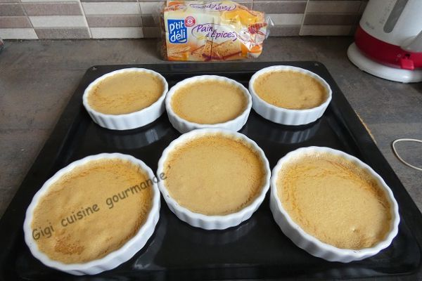 Recette Crème au pain d'épices