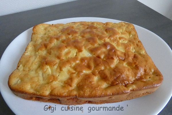 gâteau aux pommes au cake factory
