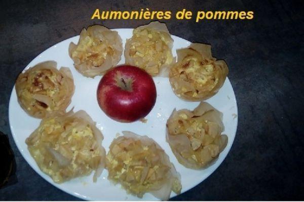 Recette Aumonières de pommes