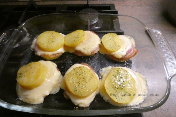 Sandwichs façon raclette au four ou Cake Factory