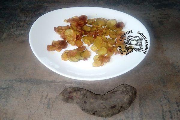 Recette Chips de poires de terre (yacon)