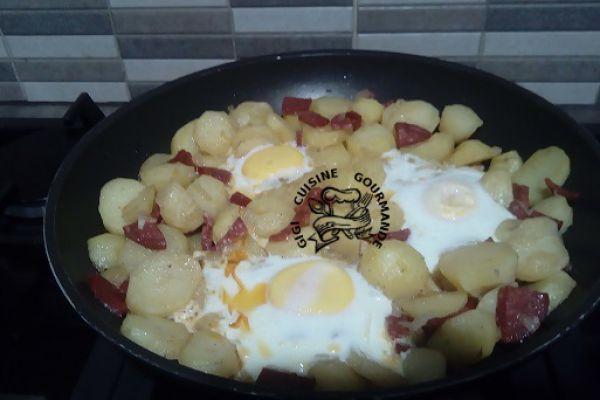 Recette Huevos rotos