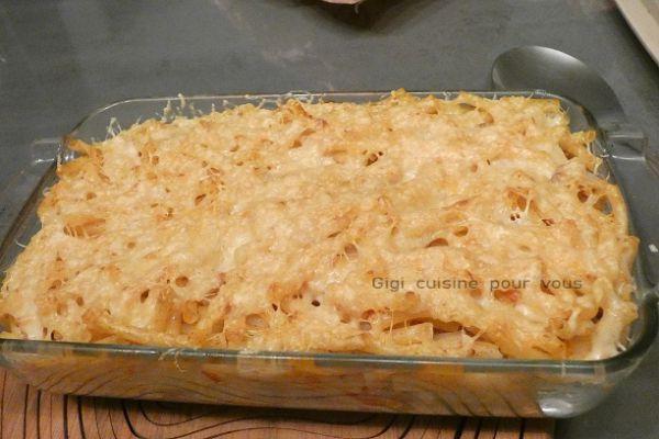 Recette Macaronis à la viande (comme les lasagnes)
