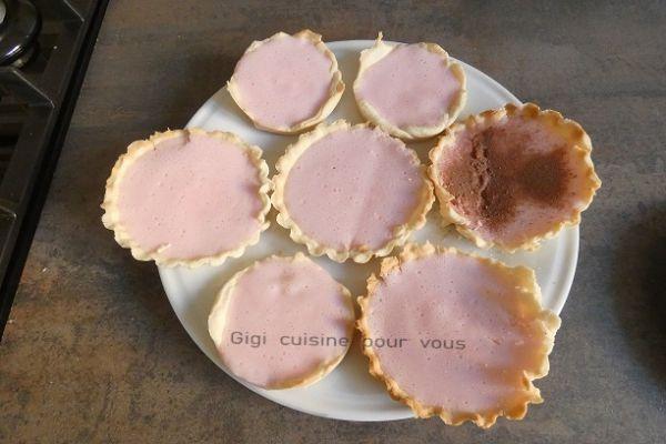 Recette Tartelettes à la guimauve