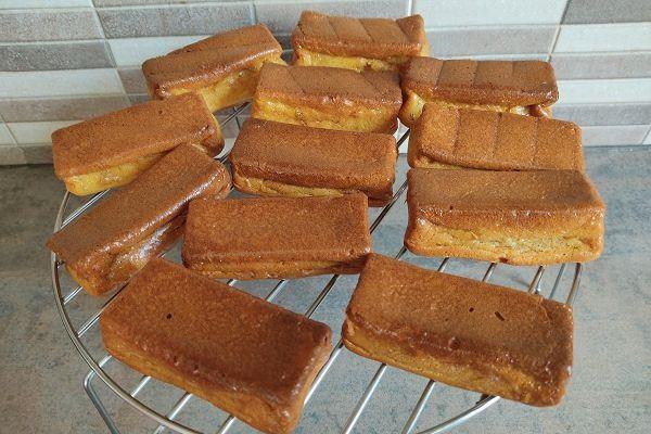 Recette Gâteaux moelleux à la vanille au cake factory