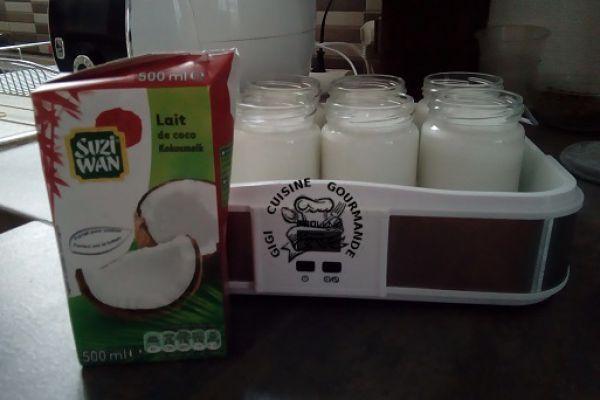 Recette Yaourt au lait de coco