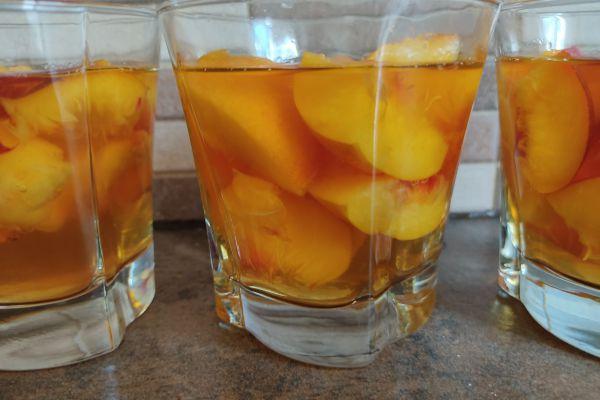 Recette Nage de nectarines en gelée goût pêche