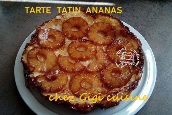 ma tarte tatin à l'ananas