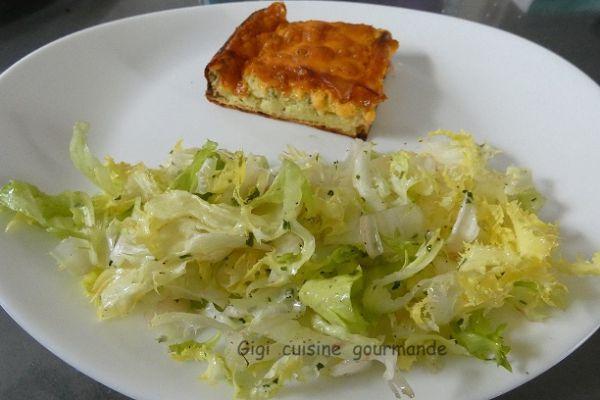 Quiche sans pâte au Cheddar® et Cantal® au cake factory
