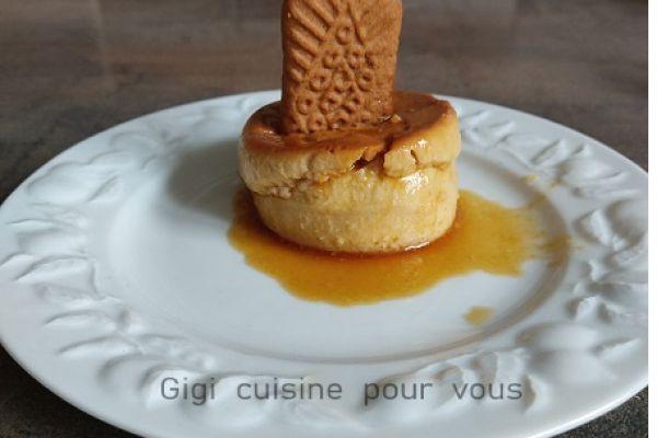 Recette Crème spéculoos et caramel au cake factory