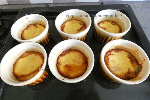 Recette Gâteau de semoule caramel au compact cook pro