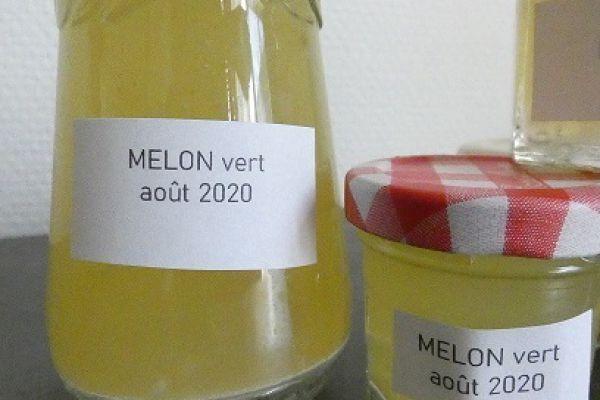 Recette Confiture de melon vert au compact cook pro