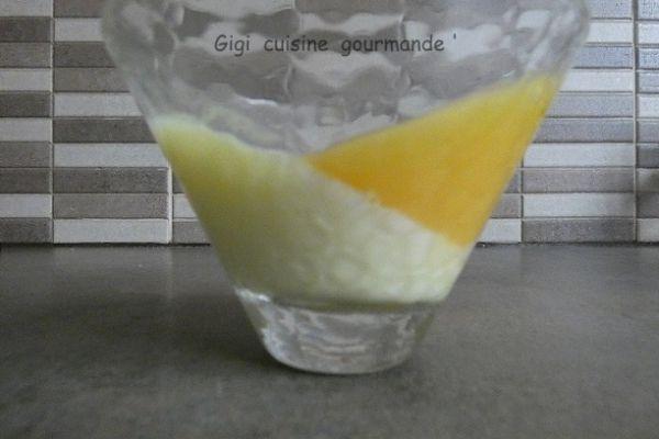 Recette Crème à la fleur d'oranger et sa gelée à l'orange