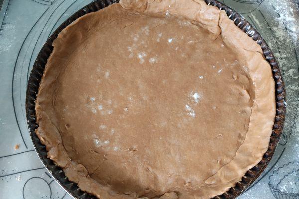 Recette Pâte brisée cacaotée au compact cook pro