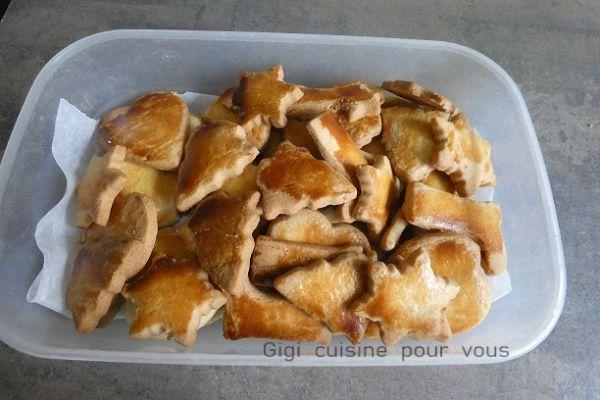 Petits sablés croquants, friables et fondants au compact cook p