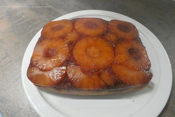 Recette Gâteau au skyr et à l'ananas avec le cake factory
