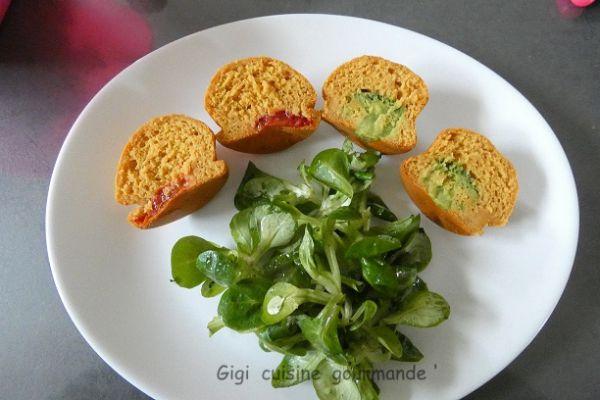 Recette Muffins salés aux légumes