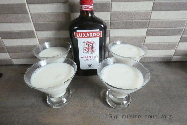 Panna cotta amaretto avec le compact cook pro