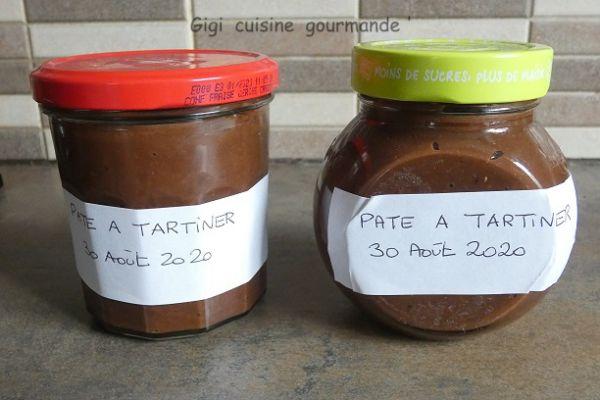 Recette Pâte à tartiner au compact cook pro