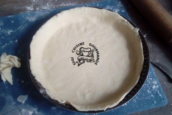 Recette pâte brisée pour tourtière 33 cms