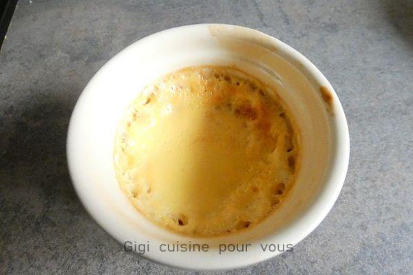 Recette Crèmes au pop corn