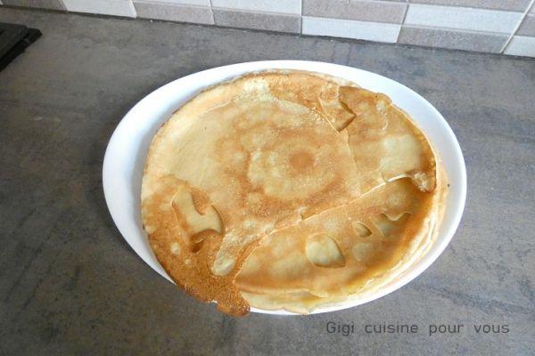 Pâte à crêpes parfaite au compact cook pro