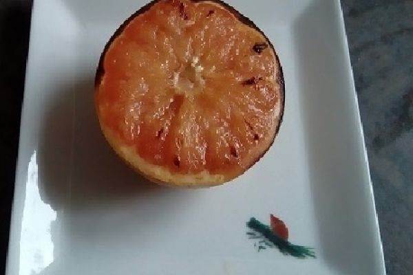 Recette Pamplemousse grillé au miel