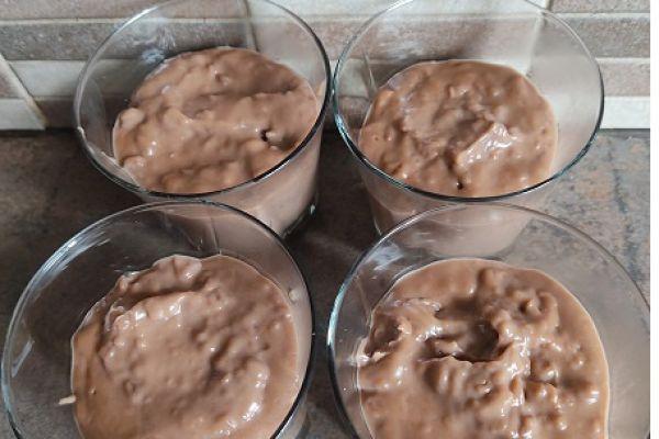 Recette Crème dessert au chocolat riz soufflé