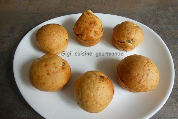 Recette Muffins au jambon de Bayonne