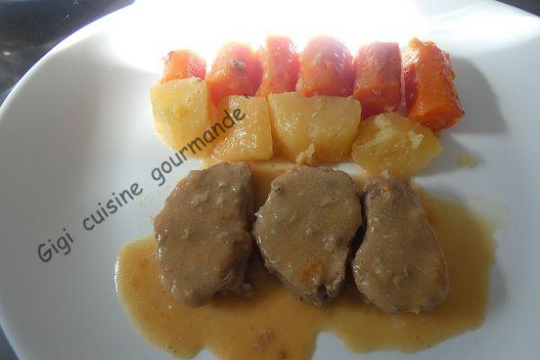 Recette Filet mignon de porc au Maroilles®