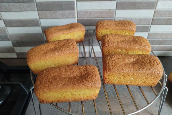 Recette Petits cakes noix de coco au cake factory