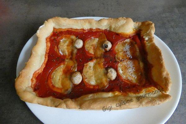 Pizza au Rocamadour