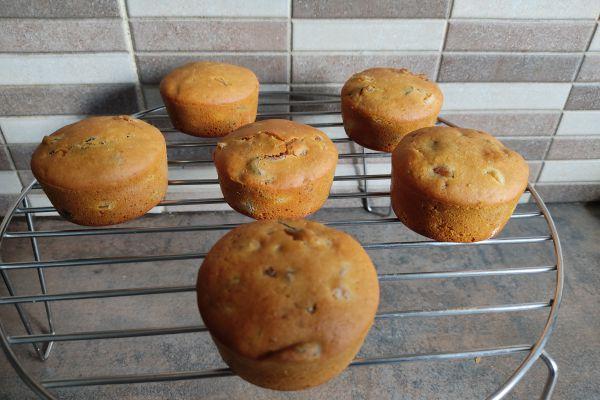 Recette Mini-cakes aux fruits séchées avec le cake factory