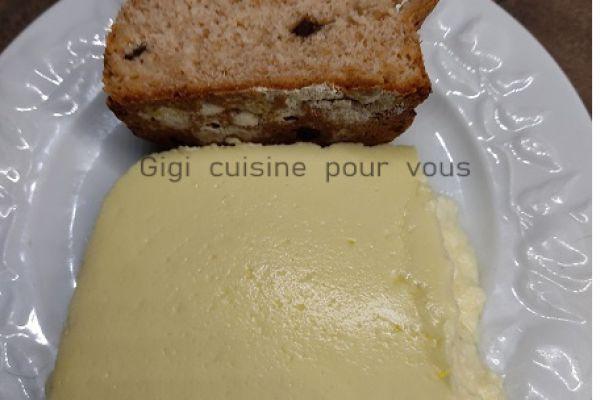 Recette Crème coco et citron vert au cake factory (ancien modèle)