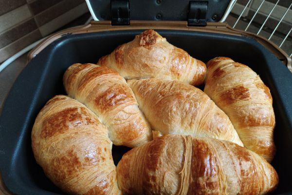 Recette Cuire des croissants surgelés au cake factory