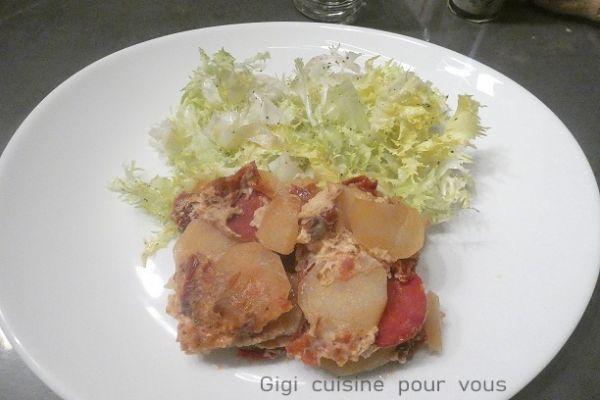 Apéri-quiches au chorizo et tomates séchées (cake factory)