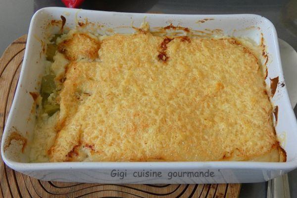 Recette Poireaux gratinés jambon et béchamel