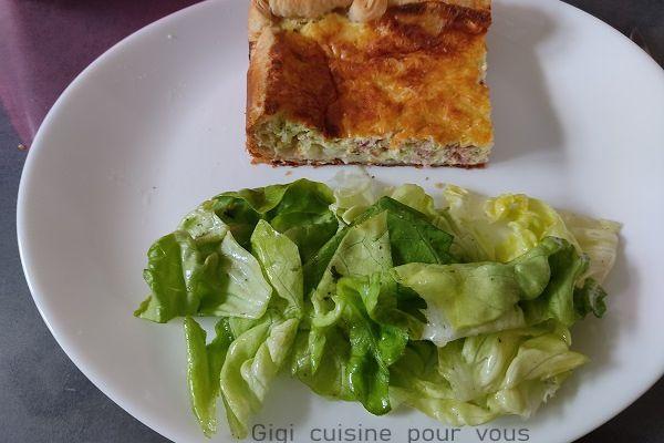 Recette Tarte jambon et tartare au cake factory