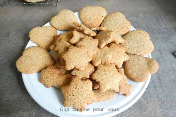 Recette Coeurs étoilés en pain d'épices au compact cook pro