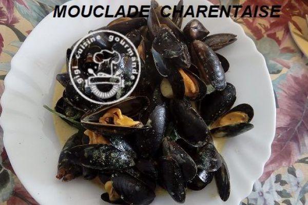 Recette Moules charentaises