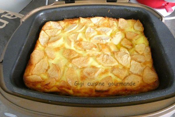 Clafouti aux pommes au cake factory